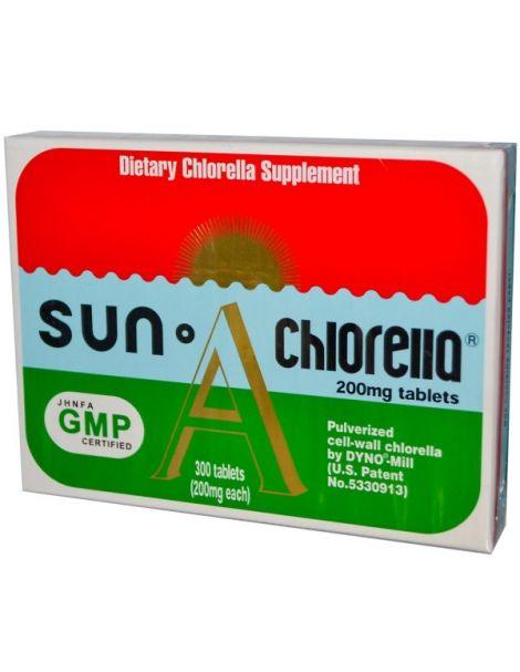 Sun Chlorella A - 300 comprimidos