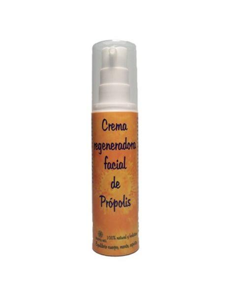 Crema Regeneradora Facial de Própolis Propol-mel - 50 ml.