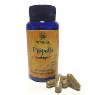 Própolis Ecológico 500 mg. Propol-mel - 60 cápsulas