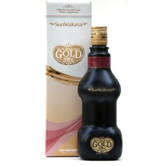 Sun Wakasa Gold Plus Sun Chlorella - 500 ml.