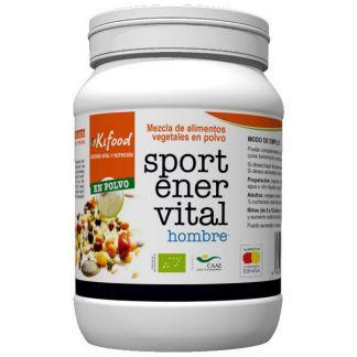 Kifood Sport Ener Vital para Hombre - 1200 gramos