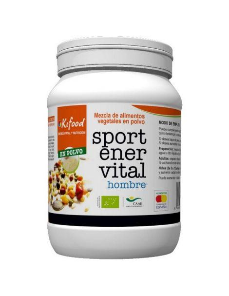 Kifood Sport Ener Vital para Hombre - 1000 gramos