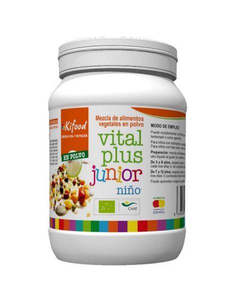 Kifood Vital Plus Junior Niño - 1000 gramos