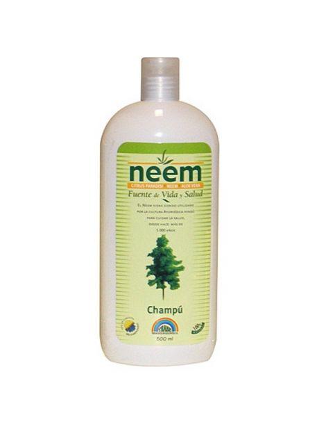 Champú de Neem Trabe - 500 ml.