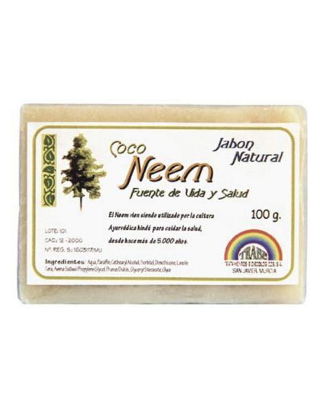 Jabón de Coco y Neem Trabe - 100 gramos
