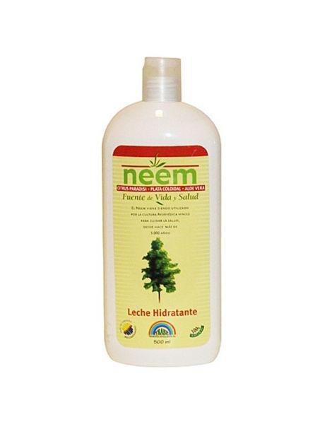 Leche Hidratante Corporal de Neem Trabe - 500 ml.