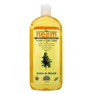 Aceite de Masaje de Caléndula y Neem Trabe - 250 ml.