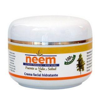 Crema Facial Hidratante de Neem Trabe - 50 ml.