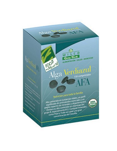 Algas AFA Cien por Cien Natural - 150 comprimidos