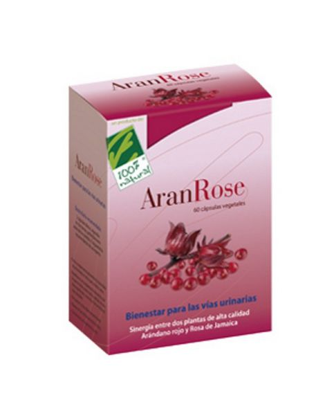 AranRose Cien por Cien Natural - 60 cápsulas