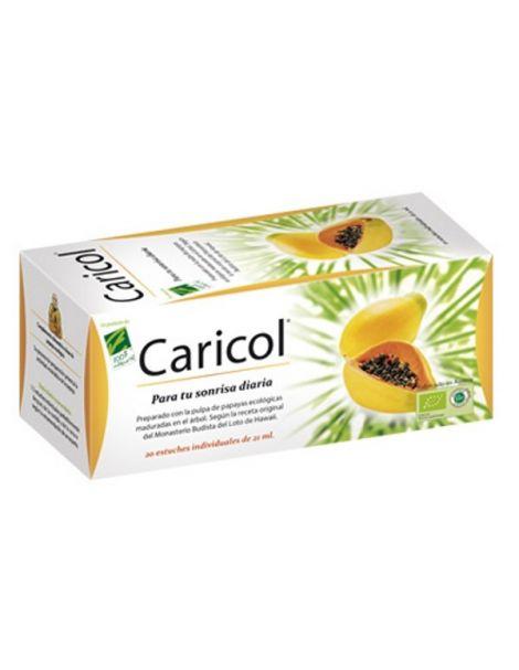 Caricol Cien por Cien Natural - 20 monodosis