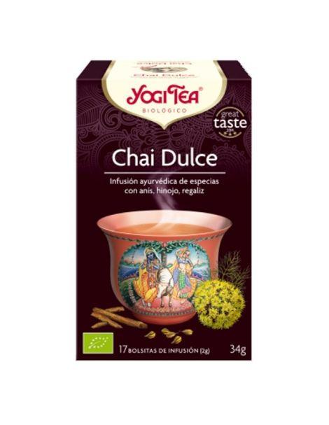Yogi Tea Chai Dulce - 17 bolsitas