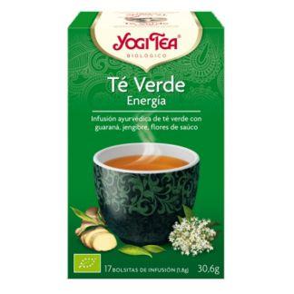 Yogi Tea Té Verde Energía - 17 bolsitas