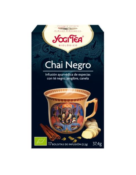 Yogi Tea Chai Negro - 17 bolsitas