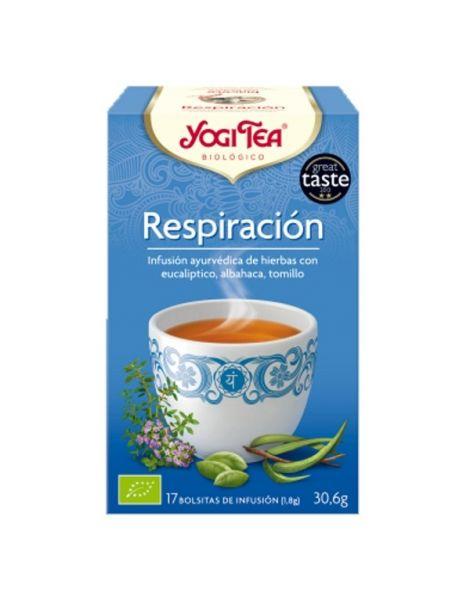 Yogi Tea Respiración - 17 bolsitas