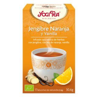 Yogi Tea Jengibre, Naranja y Vainilla - 17 bolsitas
