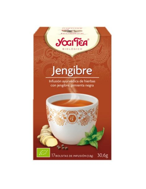 Yogi Tea Jengibre - 17 bolsitas