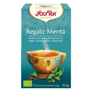 Yogi Tea Regaliz Menta - 17 bolsitas