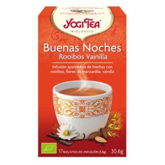 Yogi Tea Buenas Noches Rooibos y Vainilla - 17 bolsitas