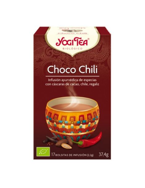 Yogi Tea Choco Chili - 17 bolsitas