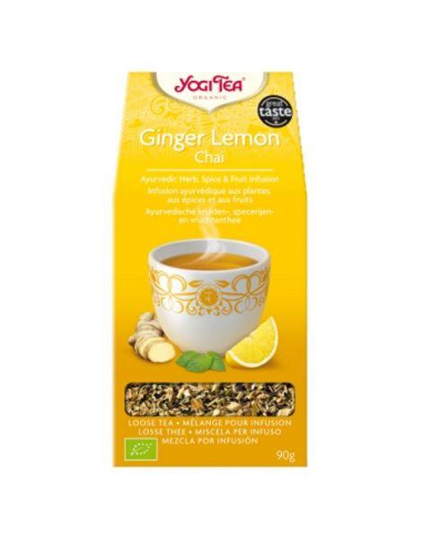 Yogi Tea Ginger Lemon Chai - 90 gramos