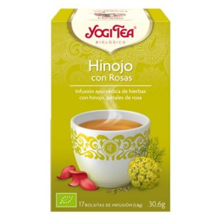 Yogi Tea Hinojo con Rosas - 17 bolsitas