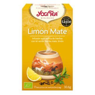 Yogi Tea Limón Mate - 17 bolsitas