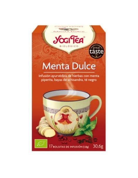 Yogi Tea Menta Dulce - 17 bolsitas