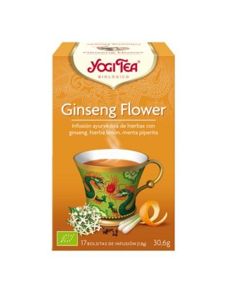 Yogi Tea Ginseng Flower - 17 bolsitas