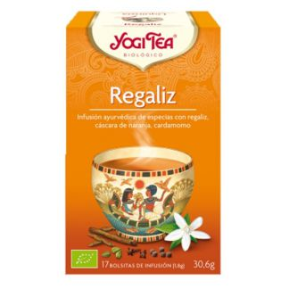 Yogi Tea Regaliz - 17 bolsitas