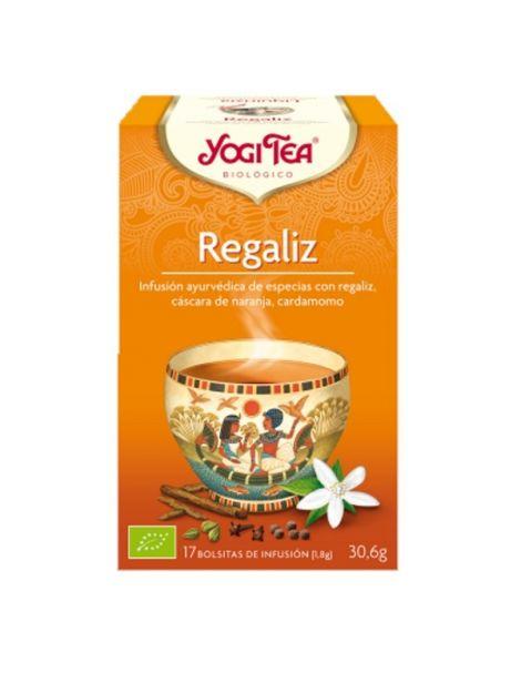 Yogi Tea Regaliz - 17 bolsitas