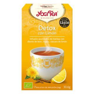 Yogi Tea Detox con Limón - 17 bolsitas