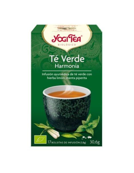 Yogi Tea Té Verde Harmonía - 17 bolsitas