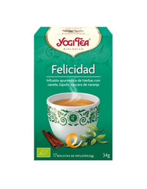 Yogi Tea Felicidad - 17 bolsitas