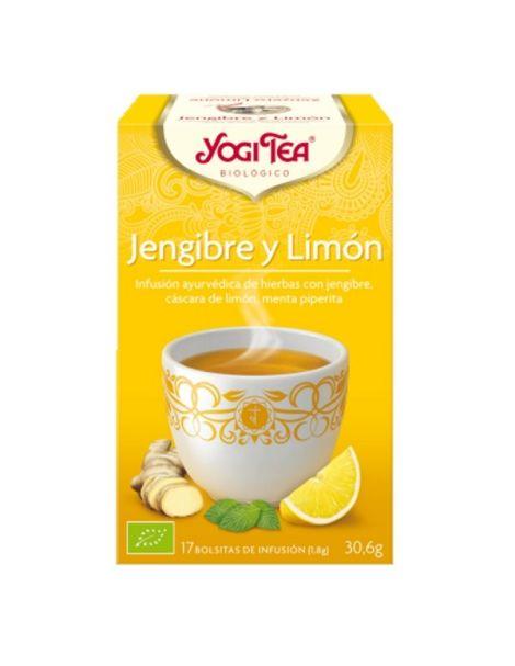 Yogi Tea Jengibre y Limón - 17 bolsitas