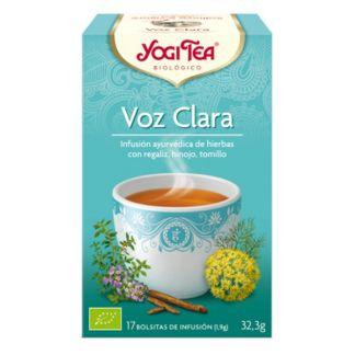Yogi Tea Voz Clara - 17 bolsitas
