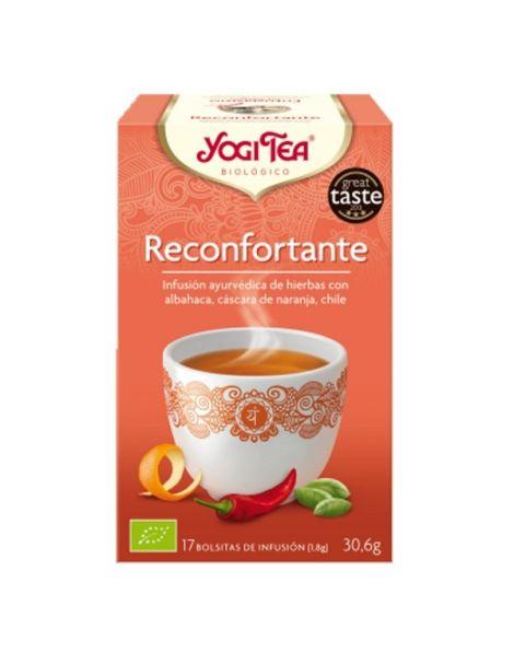 Yogi Tea Alegría de Vivir - Reconfortante - 17 bolsitas