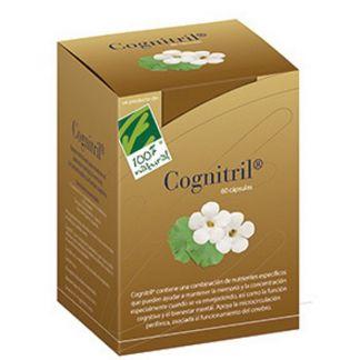 Cognitril Cien por Cien Natural - 60 cápsulas