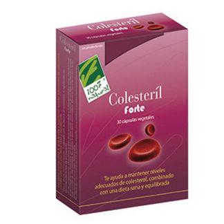 Colesteril Forte Cien por Cien Natural - 30 cápsulas