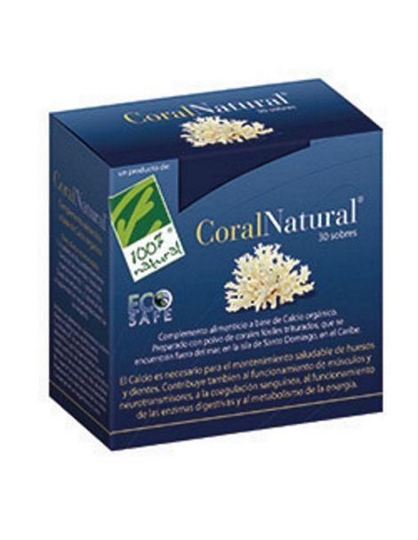 CoralNatural Cien por Cien Natural - 30 sobres