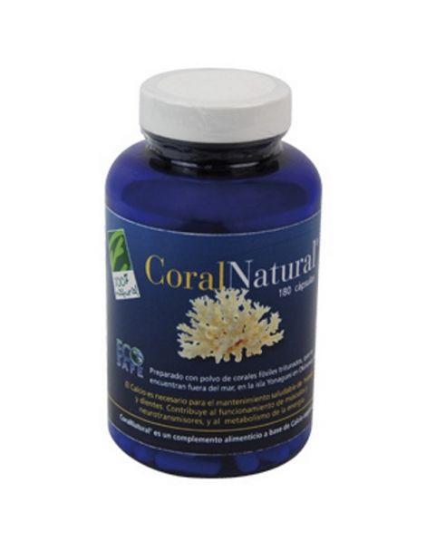 CoralNatural Cien por Cien Natural - 180 cápsulas