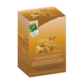 CurcuFit Cien por Cien Natural - 60 cápsulas