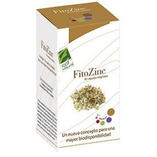 FitoZinc Cien por Cien Natural - 90 cápsulas