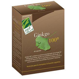 Ginkgo 100 Cien por Cien Natural - 60 cápsulas