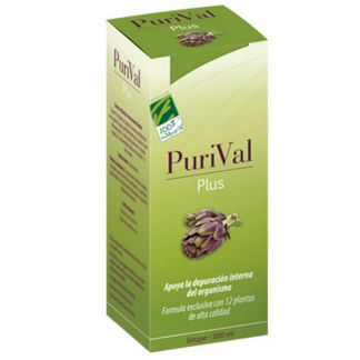 Purival Plus Cien por Cien Natural - 200 ml.