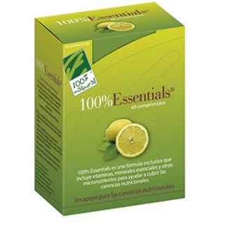 Essentials (100% Essentials) Cien por Cien Natural - 60 comprimidos