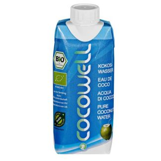 CocoWell Bio Cien por Cien Natural - 330 ml.