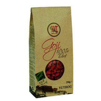Bayas de Goji Yuthog Cien por Cien Natural - 250 gramos