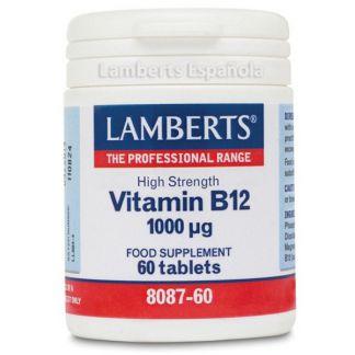 Vitamina B12 1000 mcg. Lamberts - 60 tabletas