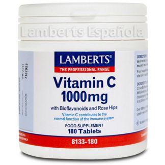 Vitamina C 1000 mg con Bioflavonoides. Lamberts - 180 tabletas